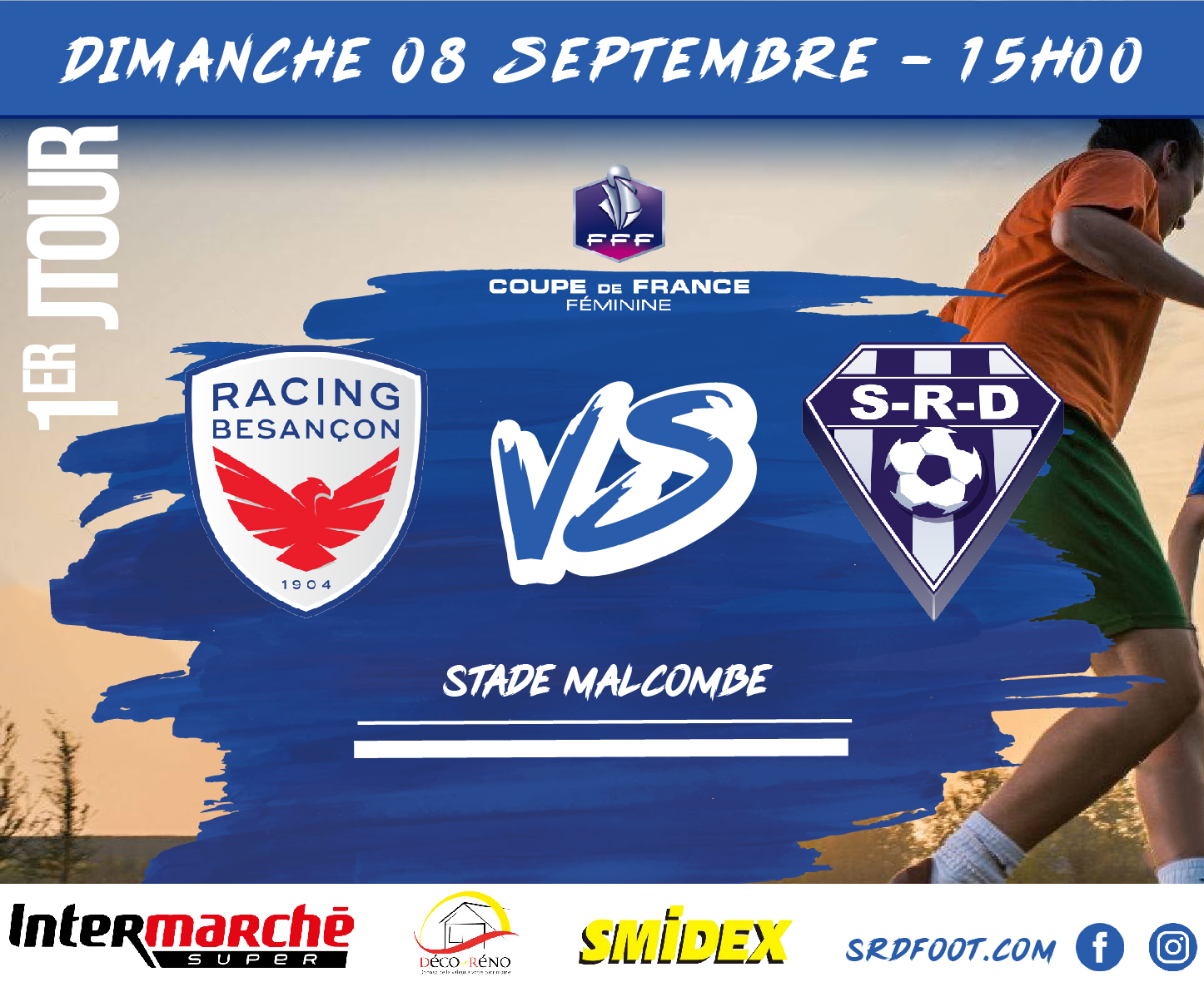 affiche match COUPE DE FRANCE FEMININE-01
